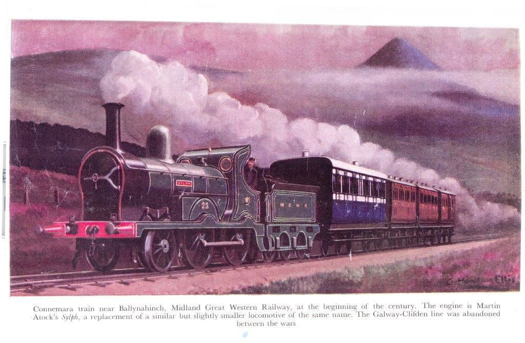 Connemara train near Ballynahinch