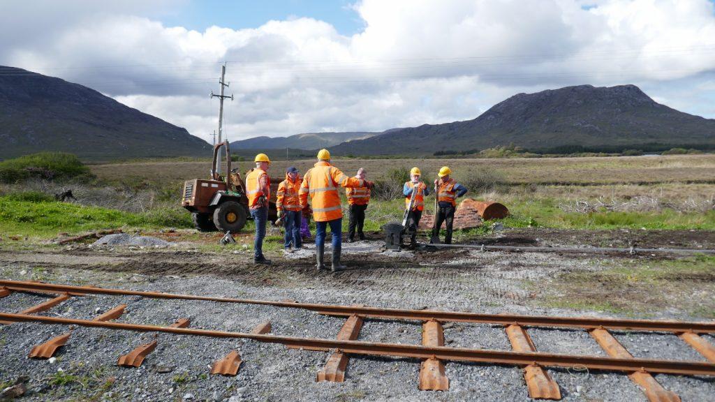 Volunteers making decisions in glorious scenery!